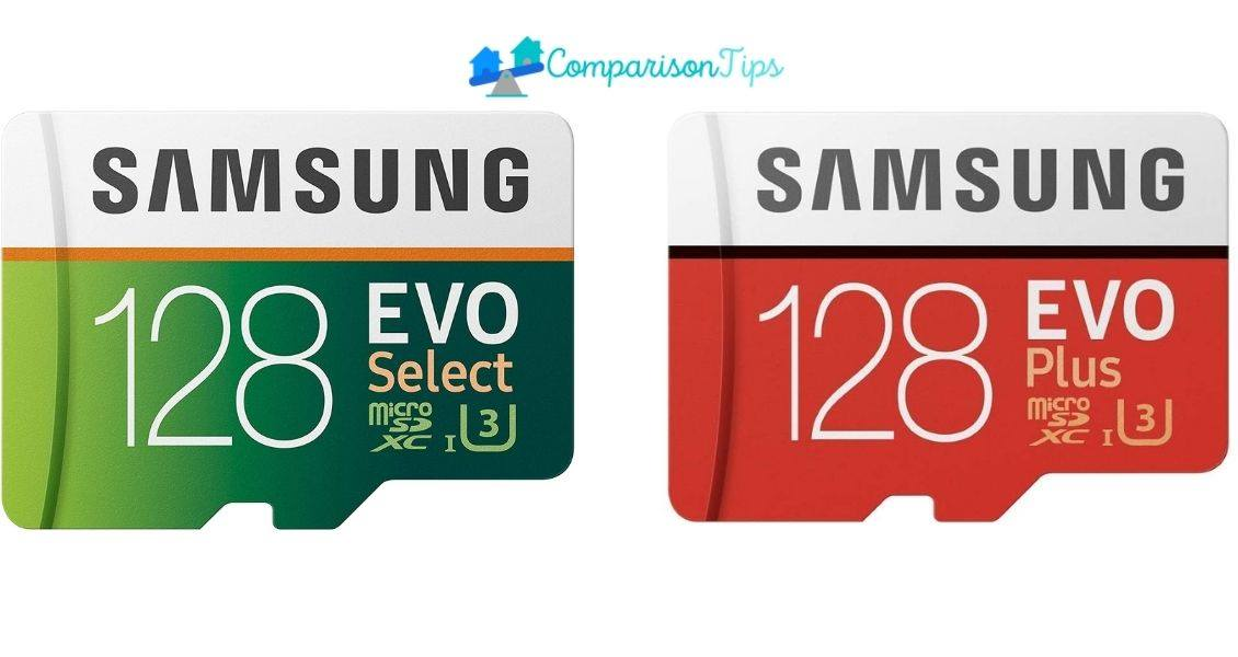 Samsung Evo select vs evo plus
