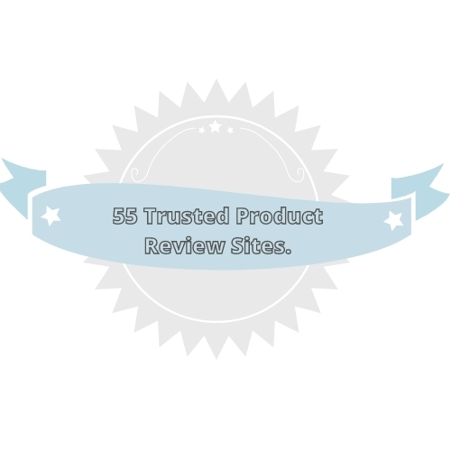 Product review sites badge